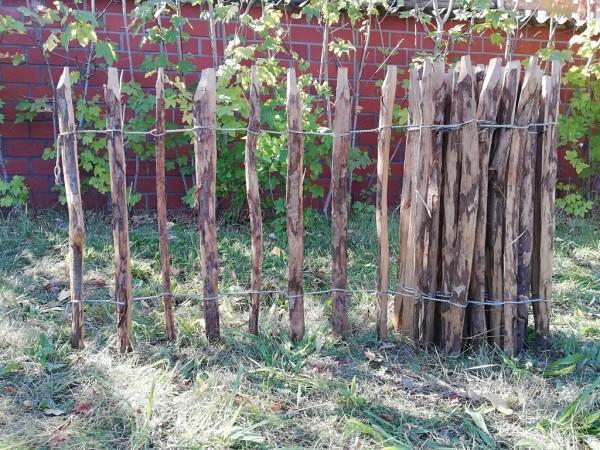 staketenzaun haselnuss 70 cm - 5 m - za 7/9 cm