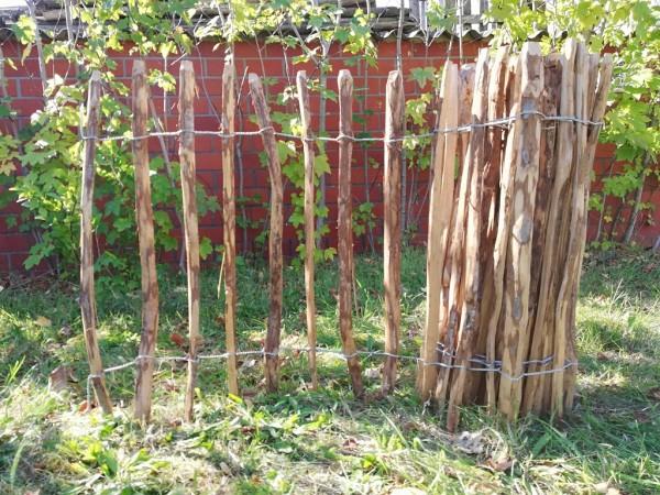 staketenzaun haselnuss 80 cm - 5 m - za 7/9 cm