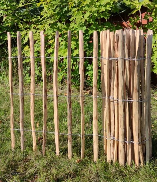 haselnuss staketenzaun 100 - 5 - 7/9 cm