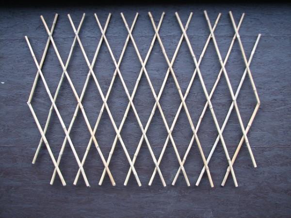 Rankhilfe - Rankgitter aus Bambus / Trelli