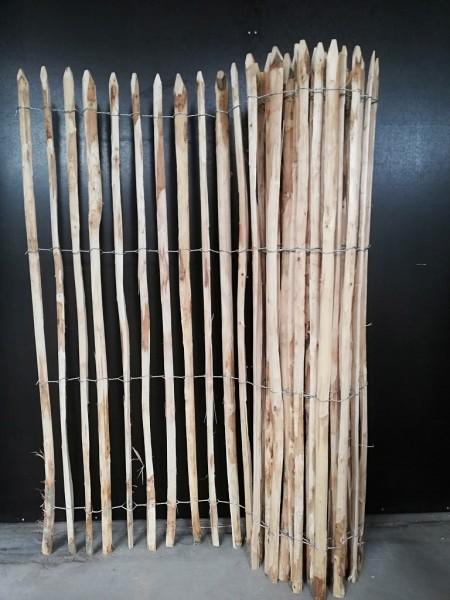 staketenzaun kastanie 175 cm - 5 m - za 4/5 cm