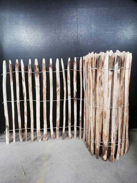 staketenzaun kastanie 100 cm - 5 m - za 4/5 cm