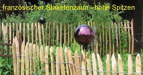 Staketenzaun Kastanie 100 cm - 5 m - ZA 8/10 cm