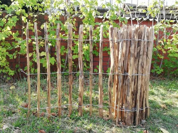 staketenzaun haselnuss 100 cm - 5 m - za 7/9 cm