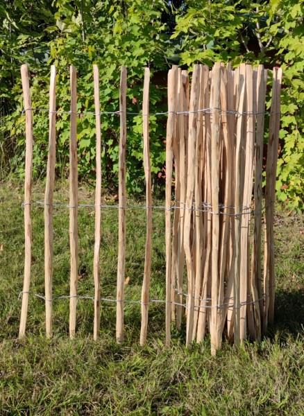 haselnuss staketenzaun 120 - 5 - 7/9 cm