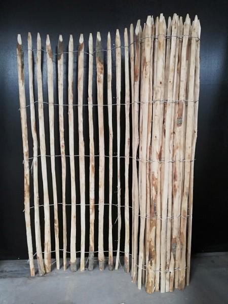 staketenzaun kastanie 200 cm - 5 m - za 4/5 cm