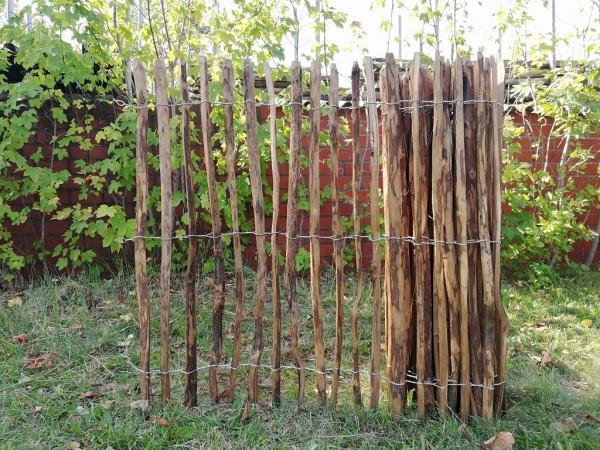 staketenzaun haselnuss 120 cm - 5 m - za 3/5 cm