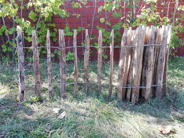 staketenzaun haselnuss 60 cm - 5 m - za 7/9 cm