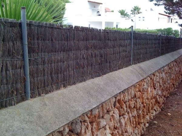 Sumpfheidematte 35 - 175 cm hoch x 300 cm lang - Sichtschutz