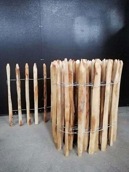 staketenzaun kastanie 60 cm - 5 m - za 4/5 cm