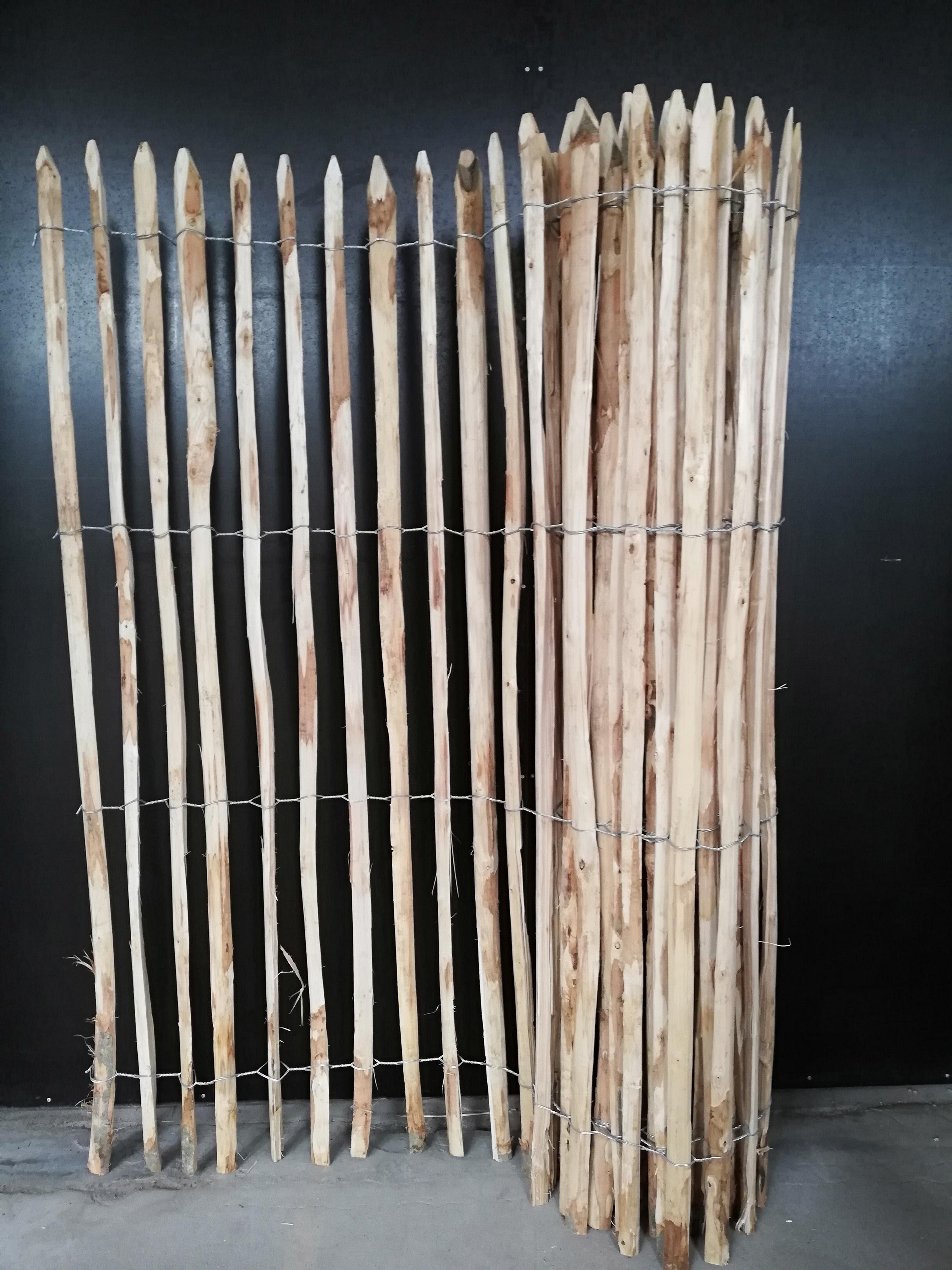 175 183 cm hoch staketenzaun natur pro kastanie shop. Black Bedroom Furniture Sets. Home Design Ideas