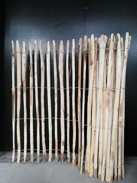 staketenzaun kastanie 150 cm - 5 m - za 4/5 cm