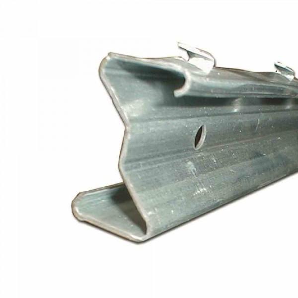 Z - Profil verzinkt 1800 mm Metall - Zaunpfähle für Wildzaun - Forstzaun - Knotengeflecht