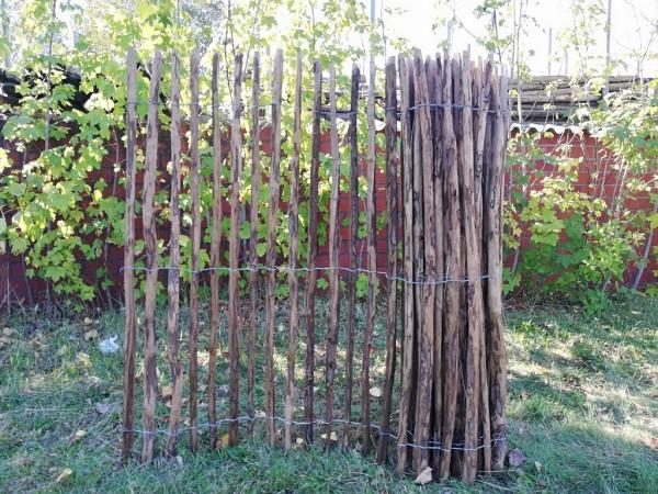 staketenzaun haselnuss 150 cm - 5 m - za 3/5 cm