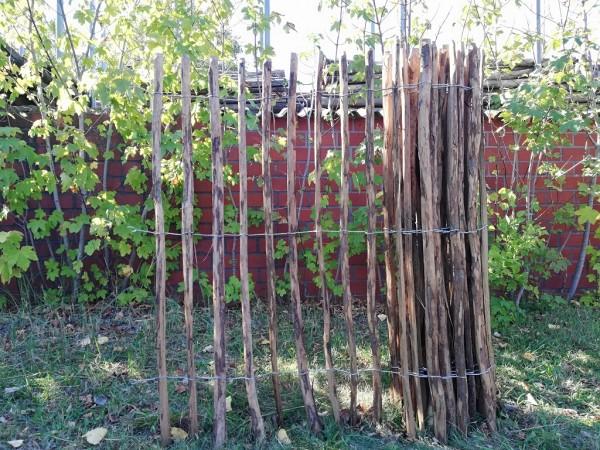 staketenzaun haselnuss 150 cm - 5 m - za 7/9 cm