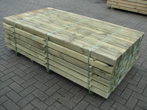 Pfahlpaket 71 x 71 x 180 kdi grün