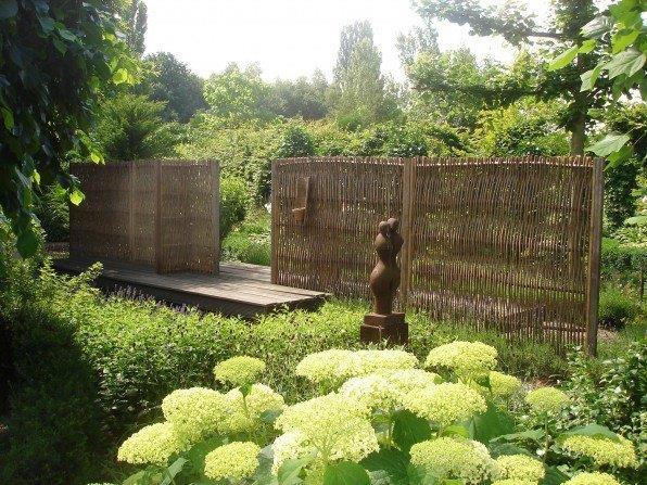 weidenflechtzaun roma 180 cm hoch x 90 cm breit natur pro kastanie shop. Black Bedroom Furniture Sets. Home Design Ideas